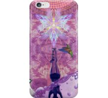 Purple Yoga  iPhone Case/Skin