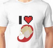 I <3 Link (Red) Unisex T-Shirt