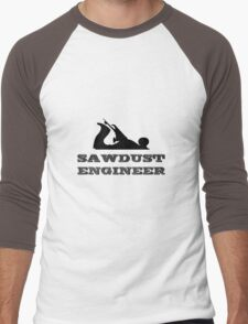 Sawdust Engineer Men's Baseball ¾ T-Shirt
