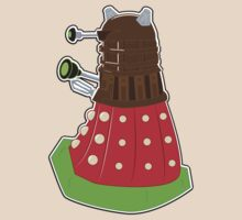 Chocolate Covered Strawberry Dalek by NikoTrash