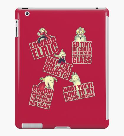 Edward (2) iPad Case/Skin