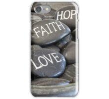 Love Faith Hope iPhone Case/Skin