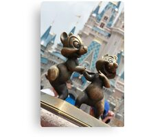 Chip 'n' Dale Canvas Print