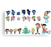 Fairly Odd Parents Package Canvas Print