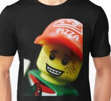 Pizza Delivery Man Unisex T-Shirt