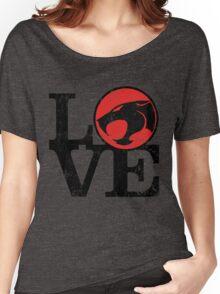 LOVE THUNDERCATS Women's Relaxed Fit T-Shirt