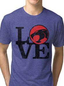 LOVE THUNDERCATS Tri-blend T-Shirt