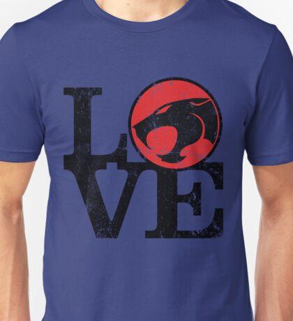 LOVE THUNDERCATS Unisex T-Shirt
