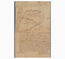 1752 Surveyor Map of New Jersey Baby Tee