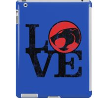 LOVE THUNDERCATS iPad Case/Skin