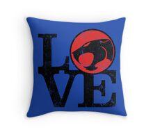 LOVE THUNDERCATS Throw Pillow