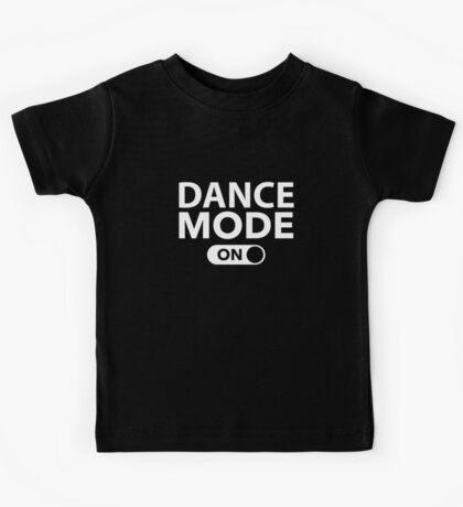 Dance Mode On Kids Tee