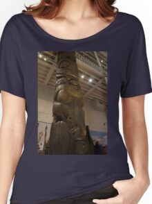 Totem Detail Women's Relaxed Fit T-Shirt