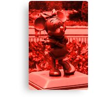 Minnie (Red) Canvas Print