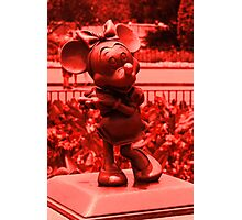 Minnie (Red) Photographic Print