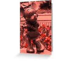 Minnie (Red 2)  Greeting Card