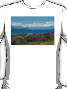 Lake Tekapo New Zealand T-Shirt