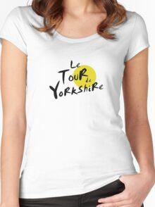 Le Tour de Yorkshire Women's Fitted Scoop T-Shirt