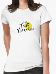 Le Tour de Yorkshire Womens Fitted T-Shirt