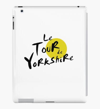 Le Tour de Yorkshire iPad Case/Skin