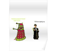 defeating the daleks Poster