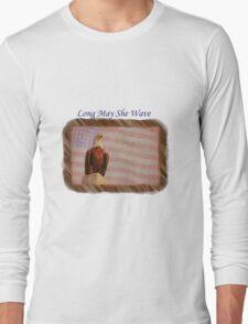 Long May She Wave Long Sleeve T-Shirt