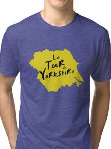 Le Tour de Yorkshire 2 Tri-blend T-Shirt