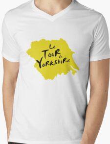 Le Tour de Yorkshire 2 Mens V-Neck T-Shirt