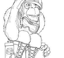 Military Ape by pjcyto