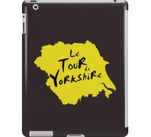 Le Tour de Yorkshire 2 iPad Case/Skin