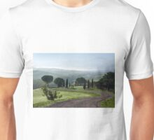 General view of Val d'orcia, Tuscany Unisex T-Shirt