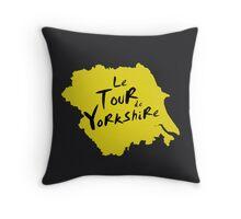 Le Tour de Yorkshire 2 Throw Pillow