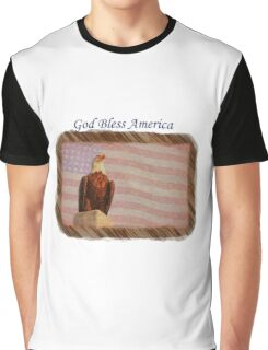 God Bless America Graphic T-Shirt