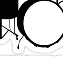 The Drummer Needs A Beer! Sticker