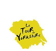 Le Tour de Yorkshire 2 Photographic Print