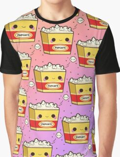 Popcorn Background Graphic T-Shirt