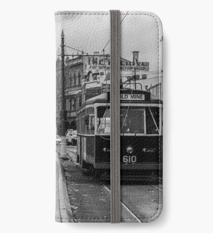 Gold Mine Tram iPhone Wallet/Case/Skin