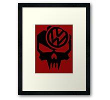 VW till death Framed Print