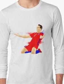 ALEXIS SANCHEZ CHILE, VECTOR Long Sleeve T-Shirt