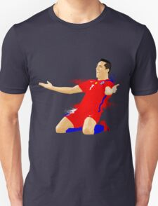 ALEXIS SANCHEZ CHILE, VECTOR Unisex T-Shirt