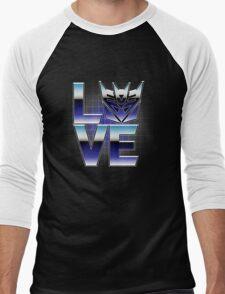 LOVECONS Men's Baseball ¾ T-Shirt