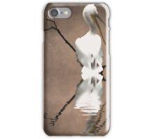 Pelicans perch iPhone Case/Skin
