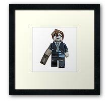 Zombie Businessman Framed Print