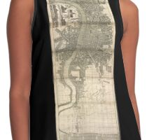 London Map 1730s Contrast Tank