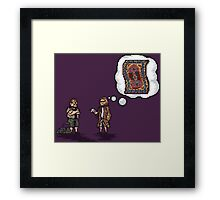It really tied the room together! Framed Print