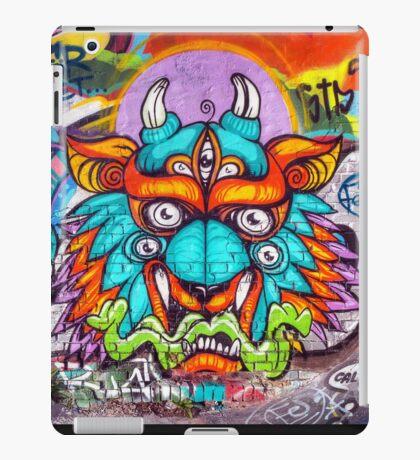 Graffiti Wall Art Tengu. iPad Case/Skin