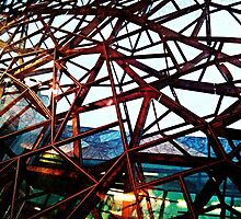 Fed Square Abstract 3 by Tleighsworld