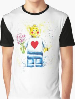 Say it with (Plastic) Flowers Graphic T-Shirt