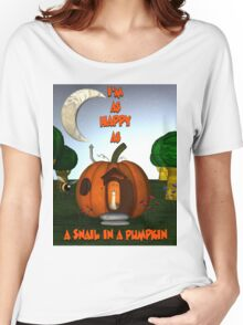 A Snail In A Pumpkin Women's Relaxed Fit T-Shirt