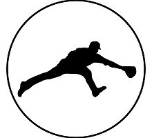 Baseball Fielder Circle by kwg2200